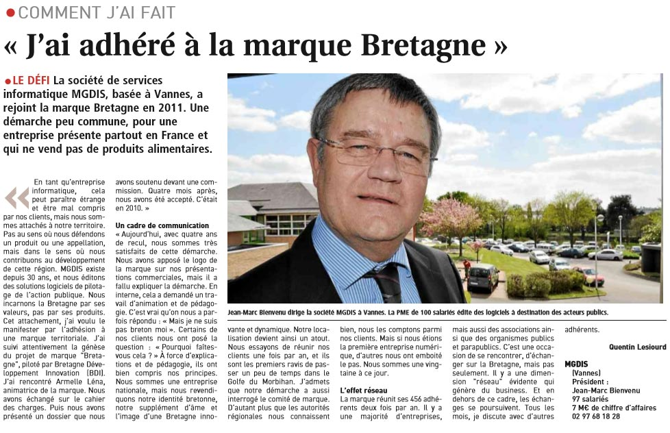 MGDIS marque Bretagne