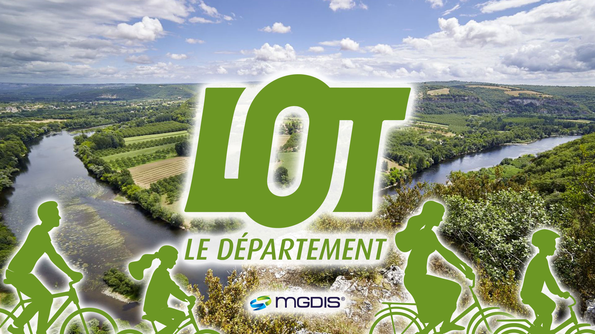 Le Département du Lot choisit le logiciel MGDIS pour attribuer et verser ses aides directes à la mobilité douce