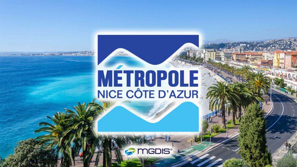 La métropole de Nice s'équipe du portail MGDIS