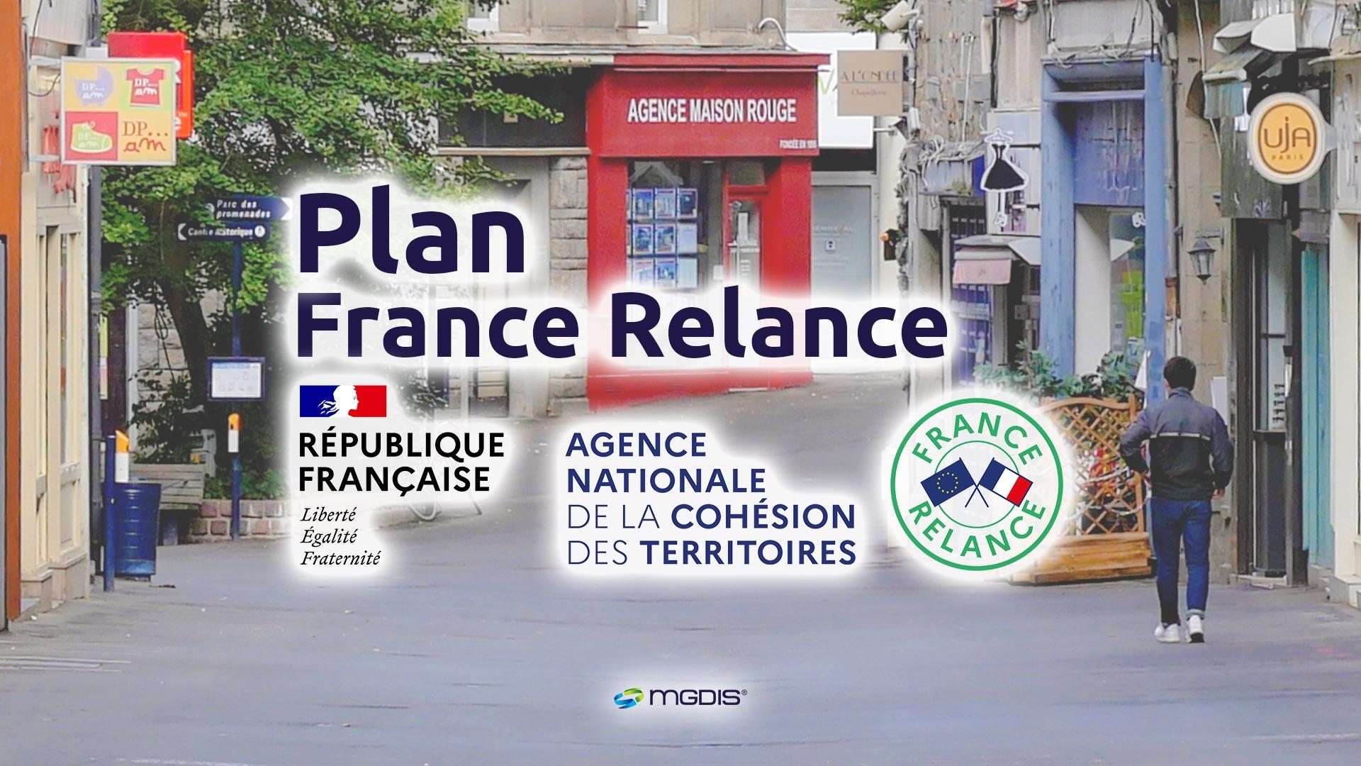 Plan France Relance ANCT - MGDIS